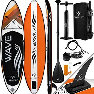 "KESSER Aufblasbare SUP Board Set 12.6"" Stand Up Paddle Board"