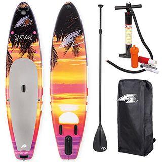 "F2 Sup Sunset Red 10,5"" 2018 Stand up Paddle Board Aufblasbar"