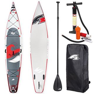 """F2 Sup Floater 11,6"""" Red 2018 Stand up Paddle Board Aufblasbar"""