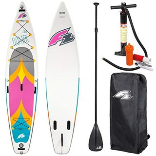 """F2 SUP Floater 11,6"""" Pink 2020 Stand UP Paddle Board Aufblasbar"""