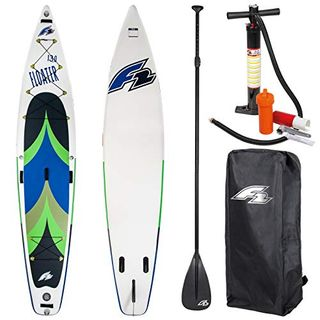 """F2 SUP Floater 13,0"""" Blue 2020 Stand UP Paddle Board Aufblasbar"""