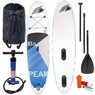 F2 Peak Windsurf Stand Up Paddle Board Set 800192 White