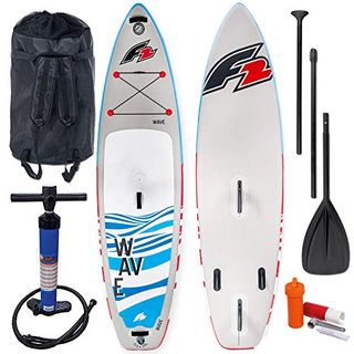 F2 Wave Windsurf Stand Up Paddle Board Set 800166 Grey