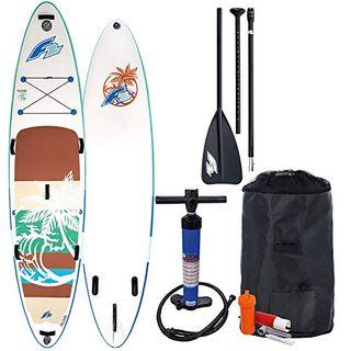 F2 Aloha Stand Up Paddle Board Set 800162 White