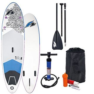 F2 Inflatable Feelgood 10'2'' Damen-Stand Up Paddle Board