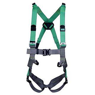 MSA V-Form Auffanggurt EN 361 Absturzsicherung Fallschutz Rücken-D-Ring