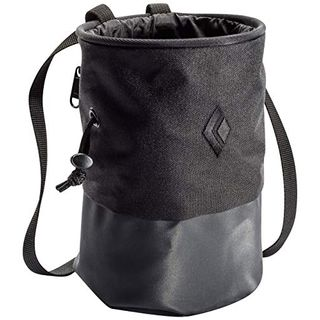 Black Diamond Mojo Zip Chalkbag Größe S-M Black