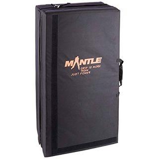 Mantle Crashpad Bouldern mit 3 Faltungen 180x110x13 cm ausgeklappt als Outdoor Fallschutzmatte