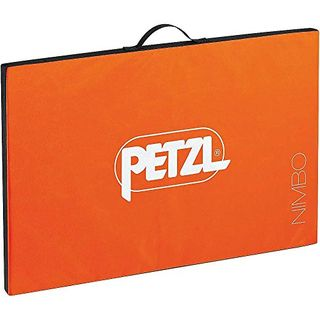 PETZL Unisex Erwachsene Crashpad Nimbo Orange 75x50x3cm