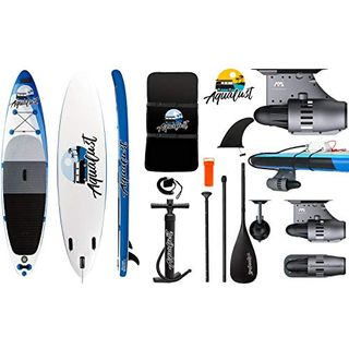 """AQUALUST 12'0"""" SUP Board Stand Up Paddle Surf-Board BlueDrive S Power Fin Motor"""