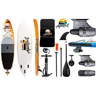 """AQUALUST 10'6"""" SUP Board Stand Up Paddle Surf-Board BlueDrive S Power"""