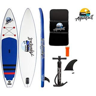 "AQUALUST 11'6"" Touring SUP Board Stand Up Paddle aufblasbar Paddel"