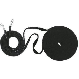 USG Doppellonge schwarz soft