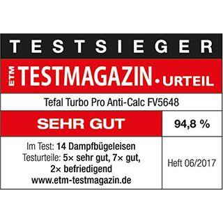 Tefal FV5648 Aquaspeed Turbo Pro Anti-Calc Dampfbügeleisen