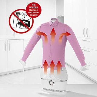 CLEANmaxx Automatischer Hemdenbügler Trocknet und glättet Hemden & Blusen und ersetzt Bügeleisen oder
