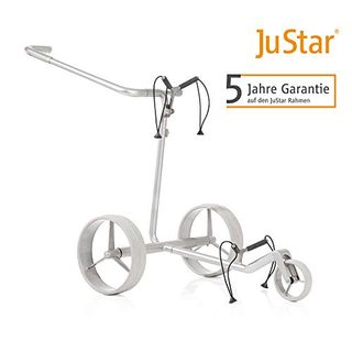 JuStar Carbon Light Elektro Golftrolley Golfcaddy