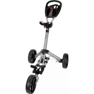 Fast Fold Trike3Wheel Silber Golftrolley