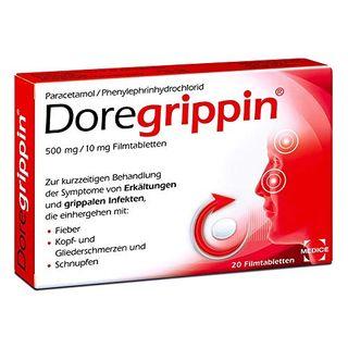 Doregrippin Die schnelle 3-fach-Hilfe bei Erkältungsschmerzen