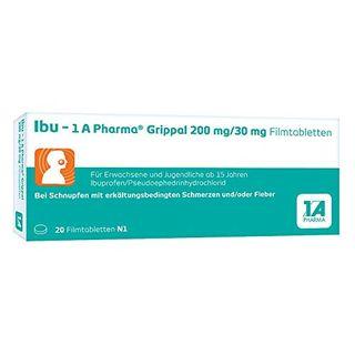 1 A Pharma GmbH Ibu 1 A Pharma Grippal 200 mg/30 mg Filmtabletten