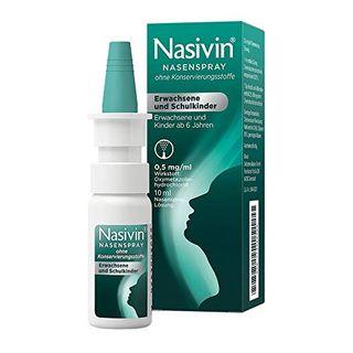 Nasivin Nasenspray ohne Konservierungsstoffe