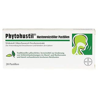 Phytohustil Hustenreizstiller Pastillen 20 St