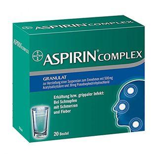 Aspirin Complex befreit von Schnupfen und lindert schnell Erkältungsschmerzen