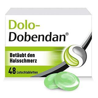 DOBENDAN Dolo-Dobendan Halsschmerztabletten 1,4mg/10mg