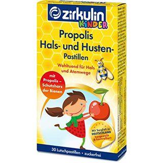 Zirkulin Propolis Hals- und Hustenpastillen