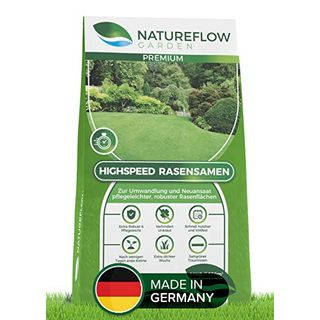Natureflow Rasensamen schnellkeimend pflegeleicht