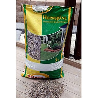 Schola Hornspäne 5 kg zur Düngung und Humusbildung bei allen Nutz- und Zierpflanzen