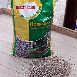 Schola Hornspäne 2,5 kg zur Düngung und Humusbildung bei allen Nutz- und Zierpflanzen