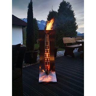 feuersegel Edle Design Feuerstelle Gartenkamin