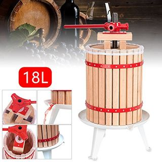 Hengda 18 Liter Obstpresse Presse Obstpresse Saft Weinpresse