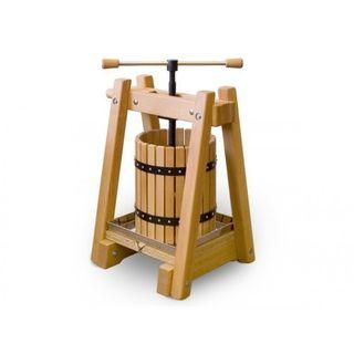 40 Liter Weinpresse Obstpresse EU-Qualität aus handgearbeitetem