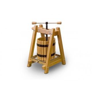 Destillatio: 10 Liter Obstpresse Weinpresse Beste EU-Qualität aus handgearbeitetem