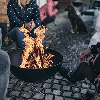 höfats Bowl Feuerschale mit Drahtfuß