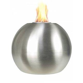 Pflanzwerk Pflanzkübel Feuerschale Premium Edelstahl Feuerkugel