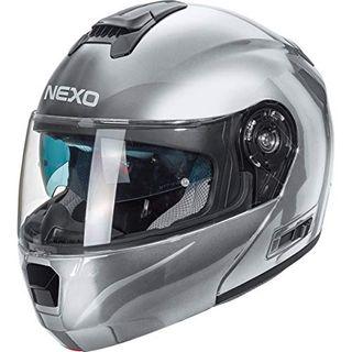 Nexo Klapphelm Motorradhelm Helm Motorrad Mopedhelm Klapphelm