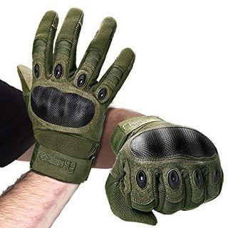 FREETOO Motorradhandschuhe Herren Sport Handschuhe Vollfinger