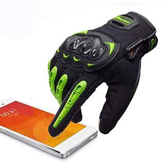 ARTOP Motorradhandschuhe Touch Screen Anti-Rutsch Anti-Kollision
