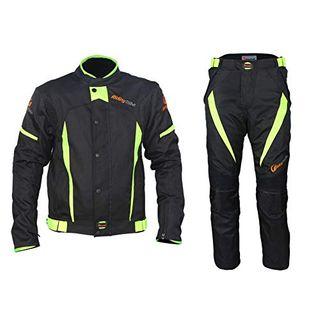 ANTLEP Motorradkombi Motorradjacke +Hosen Wasserdicht All Weather