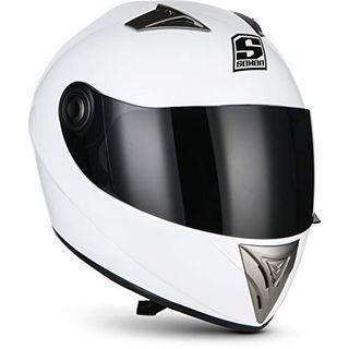 """Soxon ST-550 """"Snow"""" · Integral-Helm · Full-Face Motorrad-Helm"""