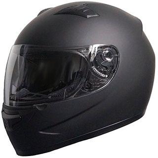 Rallox Helmets Integralhelm 051-1 schwarz