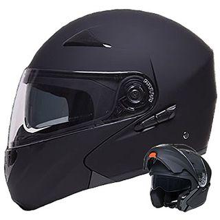 Klapphelm Integralhelm Helm Motorradhelm RALLOX 109 schwarz
