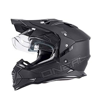 O'NEAL Sierra II Adventure Enduro MX Motorrad Helm Flat schwarz