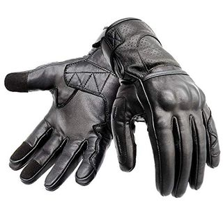 Hand Fellow Premium Leder Motorrad Motorradhandschuhe Touchscreen-Handschuhe