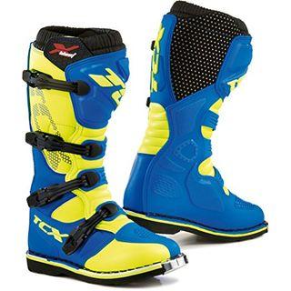 TCX X-Blast Motocross Stiefel 44 Blau
