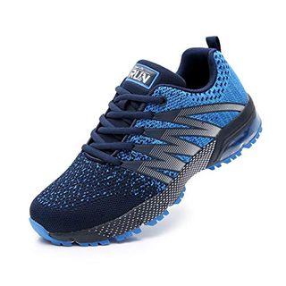 Azooken Herren Damen Sportschuhe Laufschuhe Turnschuhe Sneakers