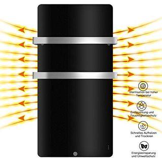 MICRO ENERGY SOLUTIONS Handtuch Heizkörper Bad Handtuchwärmer Elektrisch 580 x 1090 mm Handtuchtrockner