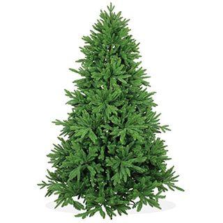 DekoLand Deluxe Pe Spritzguss Weihnachtsbaum künstlich 210 cm